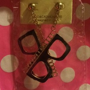 Jewelry - Vintage Glasses Earrings